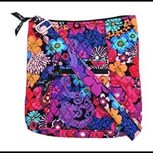 Vera Bradley Floral Fiesta Hipster Purse